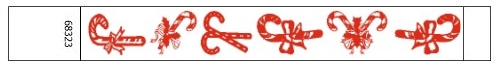 Candy cane christmas wristbands