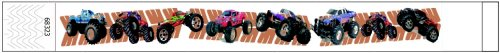Tyvek® Wristbands Monster Truck Design